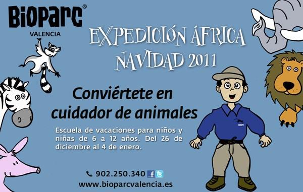 taller en bioparc expedicion africa