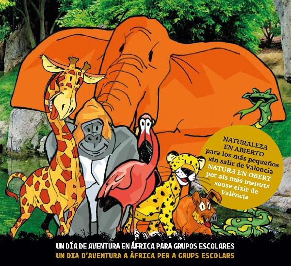 Una actividad junto a los animales educativa y divertida