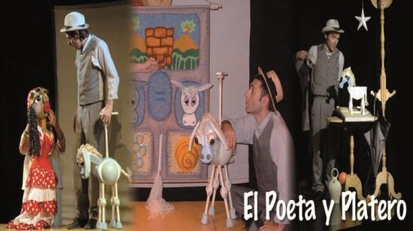 teatro para toda la familia con el poeta y platero