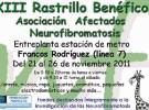 Rastrillo solidario con la neurofibromatosis