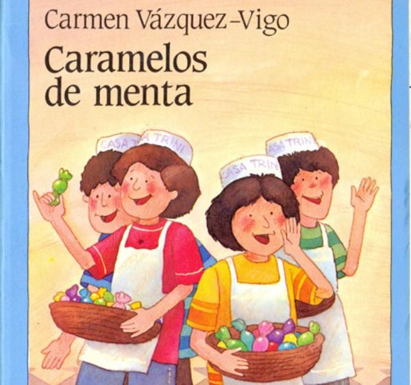 libro para niños caramelos de menta