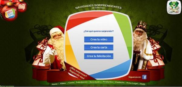 Envía un vídeo de los Reyes o Papá Noel a tus hijos
