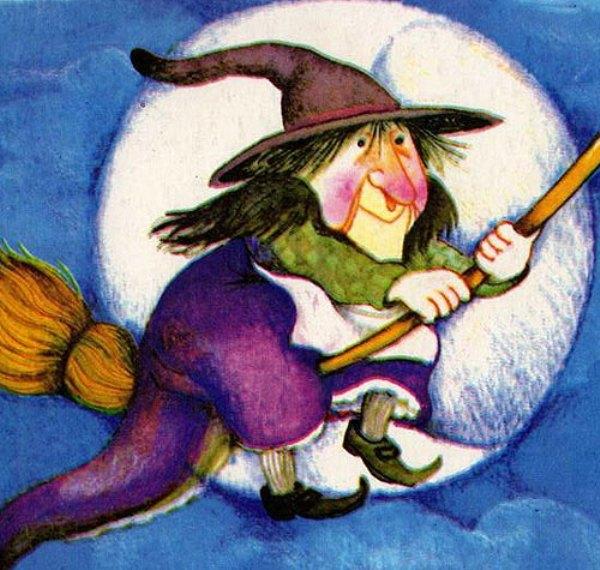 libro para niños la bruja mon