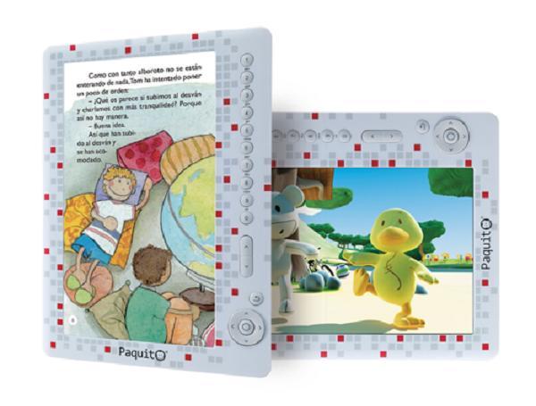Paquito el tablet para niños de Imaginarium