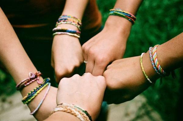 Pulseras de la amistad para niños