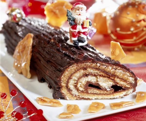 Recetas navideñas del mundo: Bûche de Noël