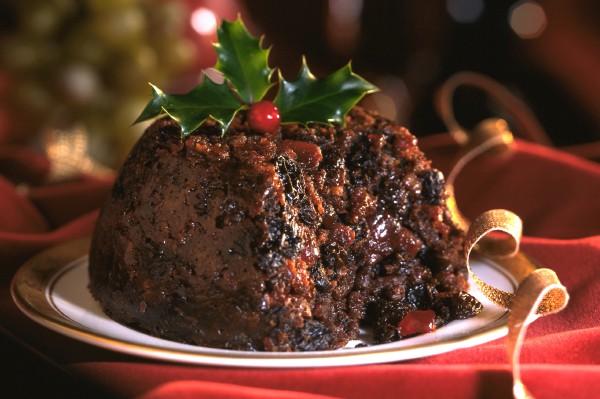 receta navidad christmas pudding