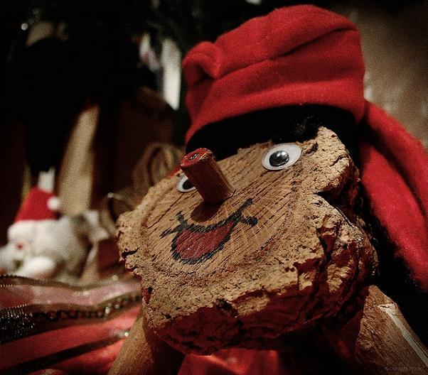 El Tió caga en Nochebuena