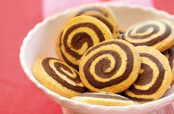 receta galleta bicolor