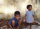 Casi la mitad de los niños de India están desnutridos