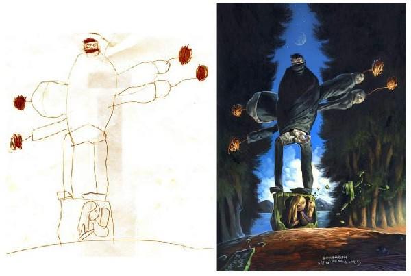 Los dibujos pueden revelar el alma de los niños