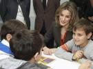 La Princesa Letizia visita el Salón del Libro Infantil en Madrid