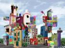 Manualidades con niños: Una ciudad con cajas