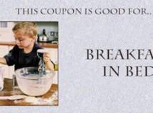 Ideas para el Día del Padre: Vales o bonos mimosos