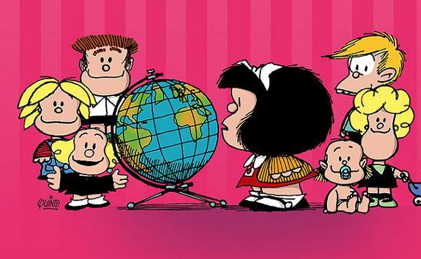 Mafalda celebra 50 años