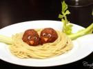 Receta para niños: Pollos en nido de espaguetis