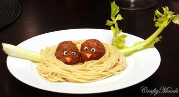 receta nido espaguetis