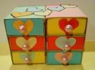 Manualidades infantiles: Joyero con cajas de cerillas