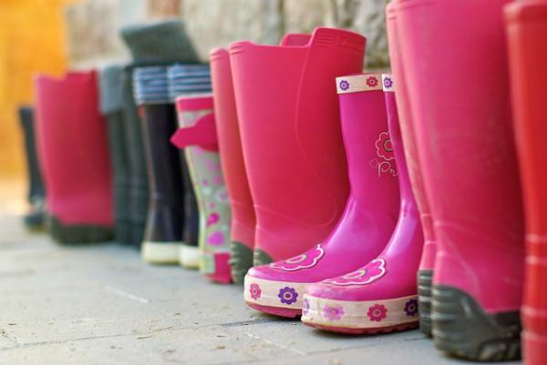foto de botas de lluvia