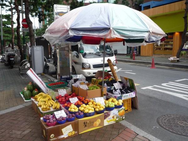 venta de frutas frescas