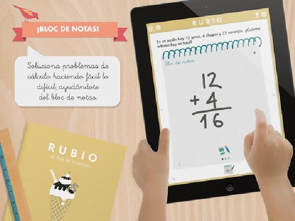 Los cuadernillos Rubio también para Ipad