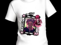 Camiseta de Draculaura con su foto