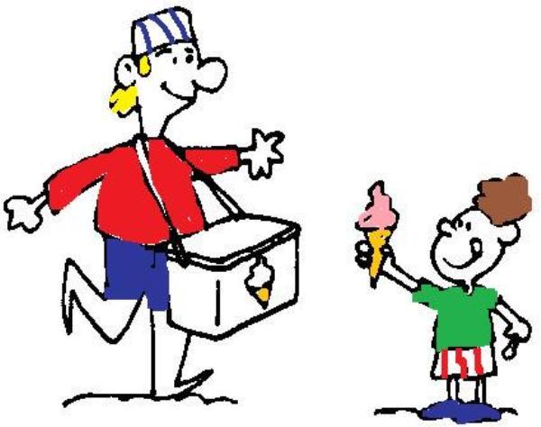 poema: el rey de los helados