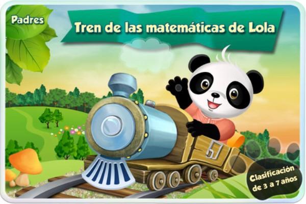 El tren de lola para aprender matemáticas