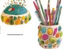 Manualidades infantiles: Decorar con caracolas y conchas