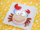 Receta para niños: Cangrejo sonriente