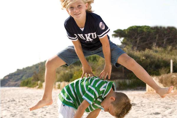 Estirones y verano en los niños