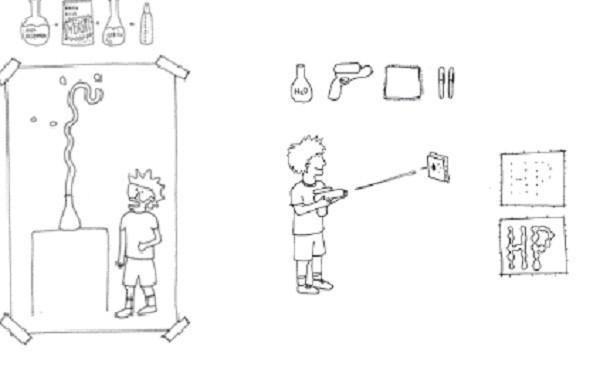 Algunos experimentos que se llevaron a cabo en el taller de HP