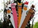 Manualidades infantiles: Marcapáginas con palitos de helado
