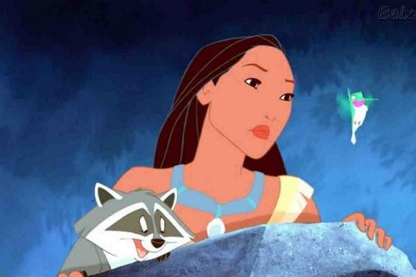 Pocahontas en televisión