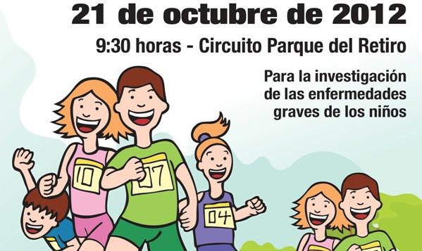 Corre por el niño en Madrid