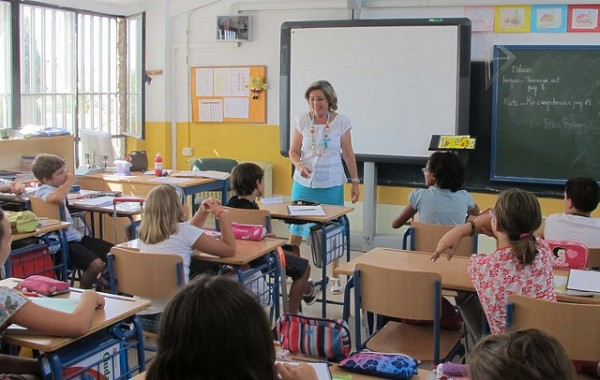 Idiomas en los colegios