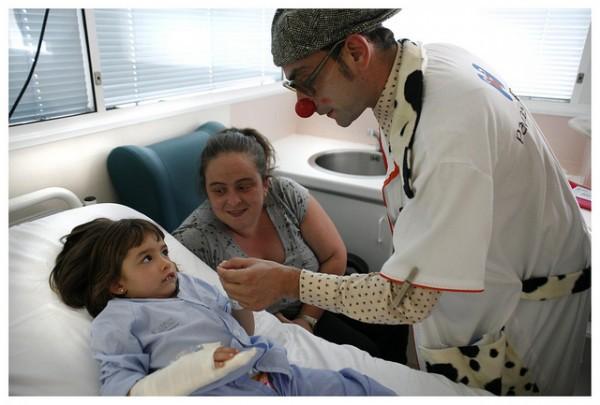 Los pequeños que tienen miedo cuando estan hospitalizados