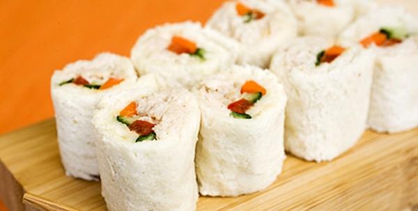 Receta: sushi divertido