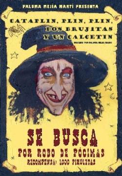 Teatro halloween; cataplin, plin, plin dos brujitas y un calcetin