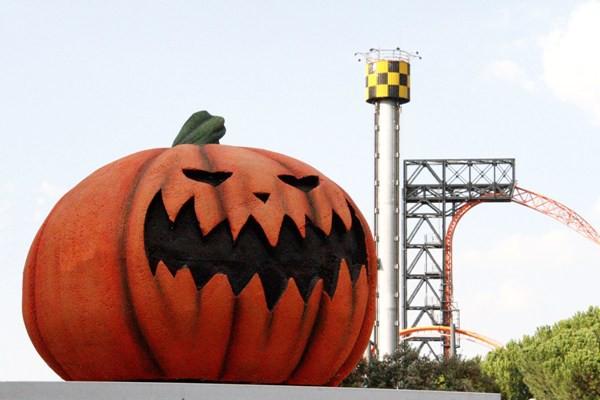 Parque de atracciones de Madrid y Halloween