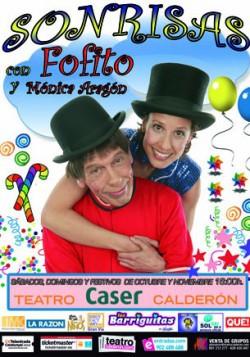 Sonrisas con Fofito y Monica Aragon