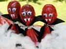 Manualidades para Halloween: Chupa chups vampíricos