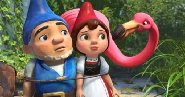 Gnomeo y Julieta en televisión