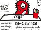 Monsters: Concurso de dibujo infantil