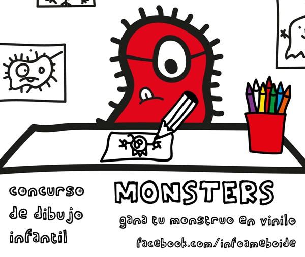 Concurso de dibujos de monstruos