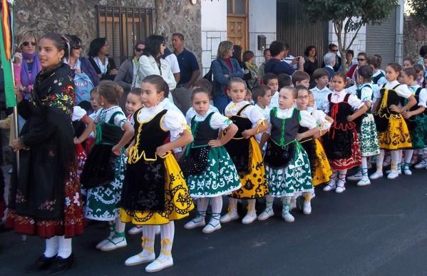 Folclore infantil en Extremadura