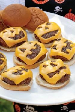 Receta: hamburguesas halloween