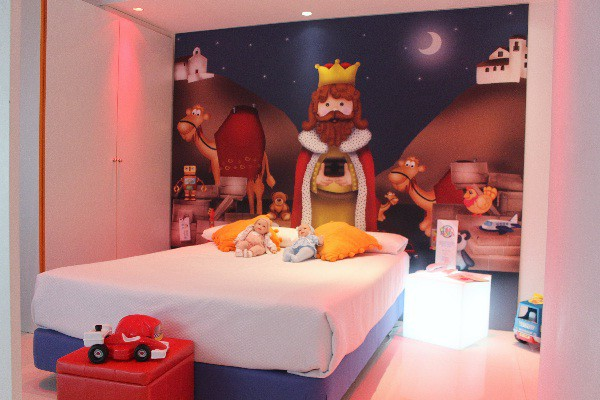 Las habitaciones duplex acercarán a los peques a la magia de la Navidad y el juego