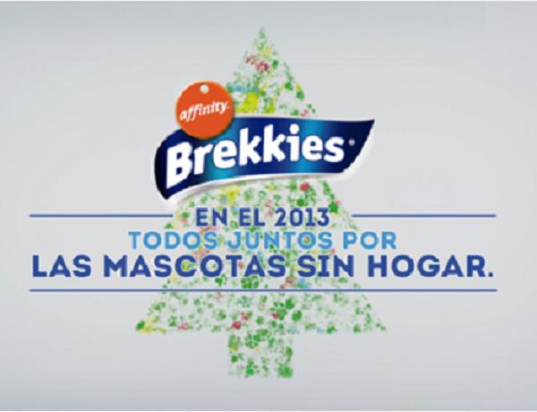 Brekkies nos recuerda en Navidad que hay muchas mascotas sin hogar