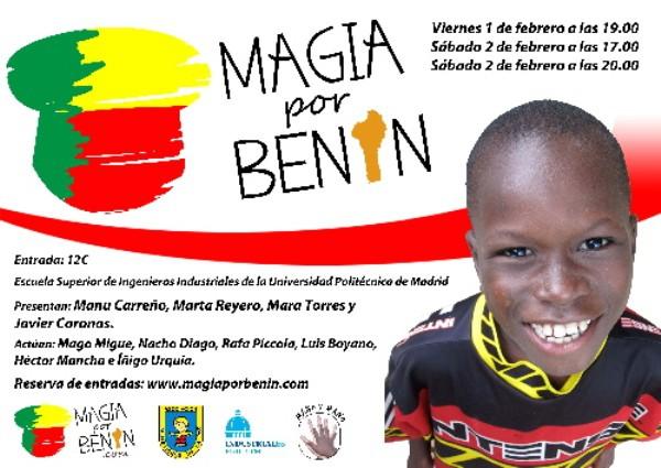 Magia por Benin: magia, humor y solidaridad en Madrid